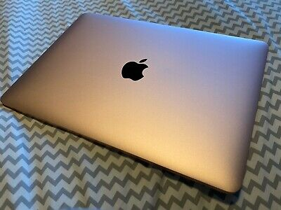 "Apple MacBook 12"" Intel M3 1.2GHz - 8GB 256gb SSD - Rare Rose Gold"