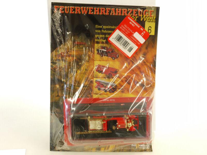 Fire Engines Of World 6 Ahrens Fox 1924 Delprado 1:64 Boxed Pieces 1409-20-09