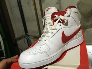 Nike  red and white