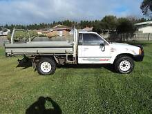 FORD COURIER 4X4 TRAY DUAL FUEL Leopold Geelong City Preview