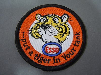 ESSO- Put a Tiger in your Tank - Embroidered Iron On Uniform-Jacket Patch 3""