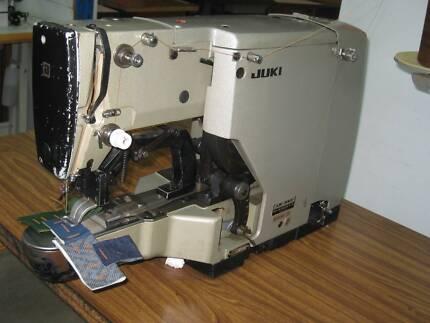 IDUSTRIAL JUKI LK-982, SUB CLASS 5 BAR TACK SEWING MACHINE