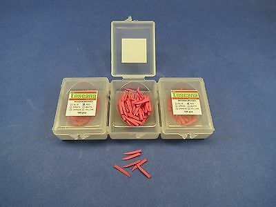 Dental Wedges Wooden Wood Red Kit 3 Box 300 Pcs Toscana