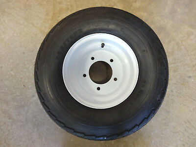 "20.5X8.0-10 Tracker Pontoon Boat Trailer Replacement Tire/Wheel 5.5"" bolt circle"