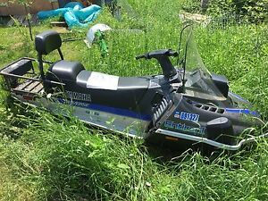 Snowmobile Yamaha Enticer 2 seater