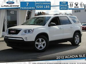 2012 GMC Acadia SLE **CAM*A/C*CRUISE*HITCH**