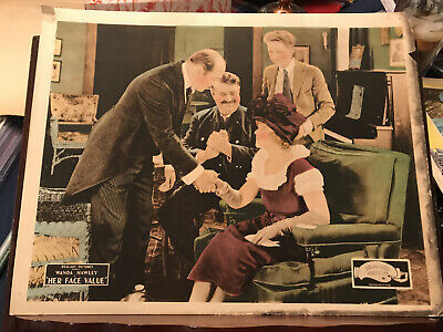 "Used, Her Face Value 1921 Realart 11x14"" silent lobby card Wanda Hawley Lincoln Plumer for sale  Shipping to India"