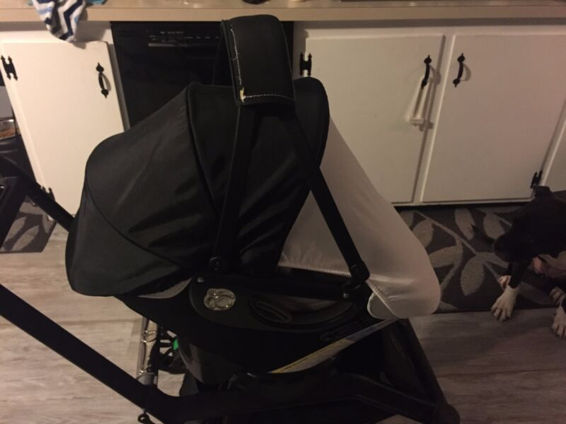 Orbit 360 G3 Infant Travel System- Car Seat, Base, Stroller Base, Cargo Basket