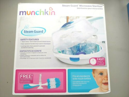 Munchkin Steam Guard Microwave Baby Bottle Sterilizer