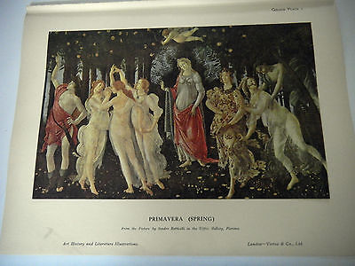 'Primavera' Print By Sandro Botticelli