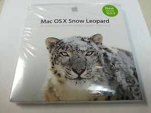 Apple Mac OS X Snow Leopard 10.6 Install DVD Brand New in Sealed package