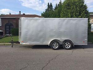 Remorque / Trailer Wells Cargo 16' x 7'