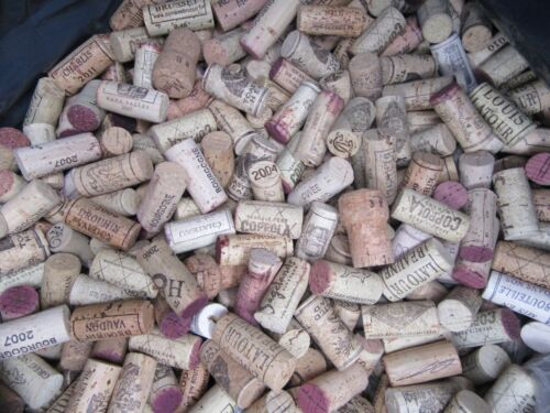 Wine Corks Natural - Used Assorted Lots of   50, 100, 200