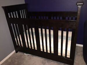 Dutailier crib and organic mattress