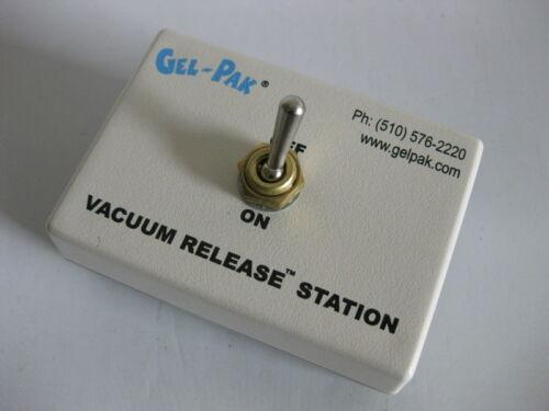 GEL-PAK Vacuum Release Station