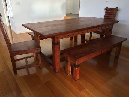 Ishka dining setting + coffee table