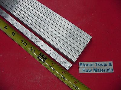 10 Pieces 14 X 12 Aluminum 6061 T6511 Flat Bar 14 Long .25x .5 Mill Stock
