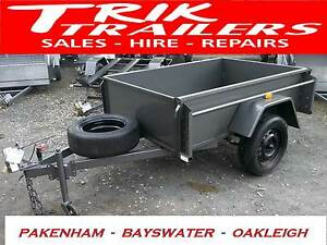 6x4 deluxe deep side 450mm box trailer BAYSWATER Bayswater Knox Area Preview