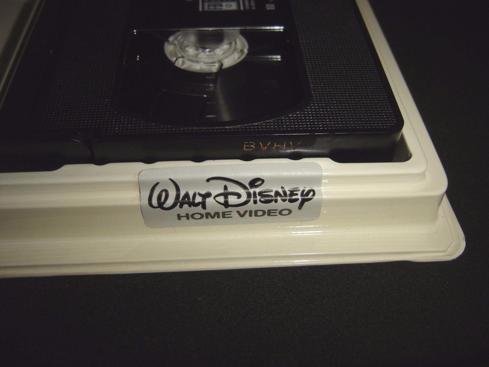 Beauty and the Beast Walt Disney Black Diamond Classic VHS 1992