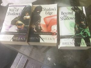Brent weeks the shadows books
