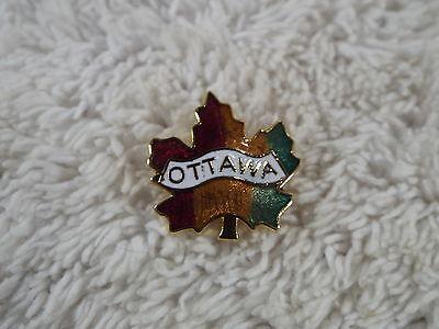 Ottawa Canada Maple Leaf Pin  (D53)