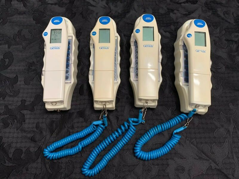 LOT of (4) First Temp Genius Infrared Tympanic Thermometer 3000A