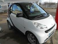 2009 '09' Smart fortwo 1.0 ( 61bhp ) Pure - low mileage