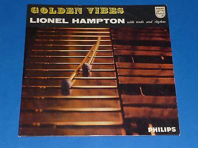 Lionel Hampton    Golden Vibes    Record Album Lp   Dutch Import