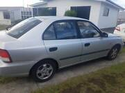 2001 Hyundai Accent Sedan Claremont Glenorchy Area Preview