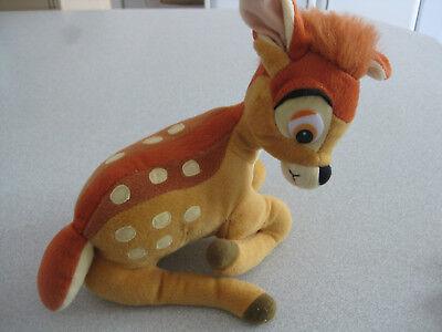 Disney Bambi Reh Rehkitz Stofftier sitzend Sammlerstück