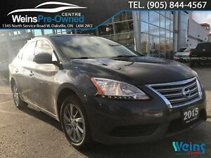 2015 Nissan Sentra SV|POWER GROUP|HEATED SEATS|CAMERA