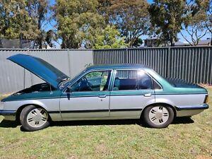 1983 VH SLE Holden Commodore. 2 tone green/silver