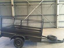 8X5 HI SIDE HEAVY 600MM CAGE DUTY 1Y PRIV REGO 1Y WARRANTY $1600 Hurstville Area Preview