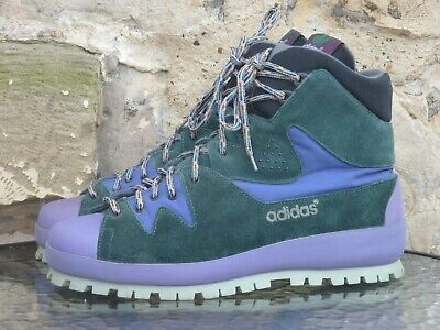 Vintage 1988 Adidas Yellowstone Trekking Boots UK9.5 Made In Italy OG 80s winter