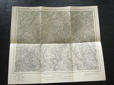 alte Landkarte Karte des Deutschen Reiches Nr.503. Prüm von 1910