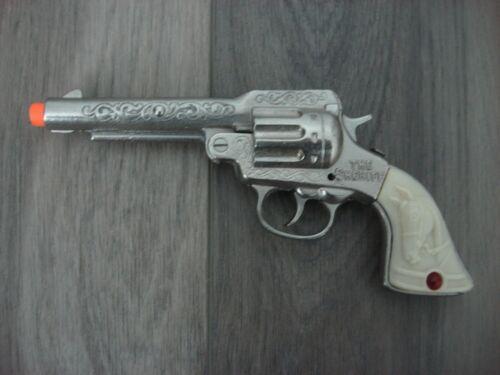 Sheriff Cast Iron Toy Cap Gun Stevens Co. 1940 Era