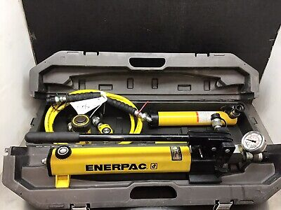 Enerpac 10 Ton Set Rc1010 Rc108 Rc102 Rc55 P392 Pump Nice Set