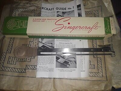 Singercraft Guide No. 2 Rug Making  120987 and 120983