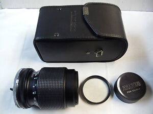 Tamron 70-210mm F/4-5.6 Lens with Adaptall-2 Mount System w/ Tiffen Filter, NEW