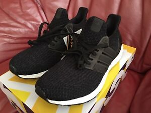 Adidas Ultraboost Black Core DS Size 8