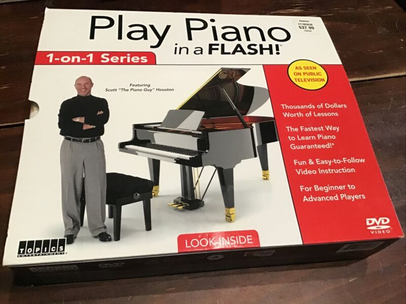Play Piano In A Flash Learn To Play Piano 1-on-1 Series Collectors Edition