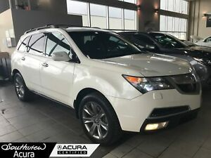 2010 Acura MDX Elite, Entertainment Package, Navigation System,