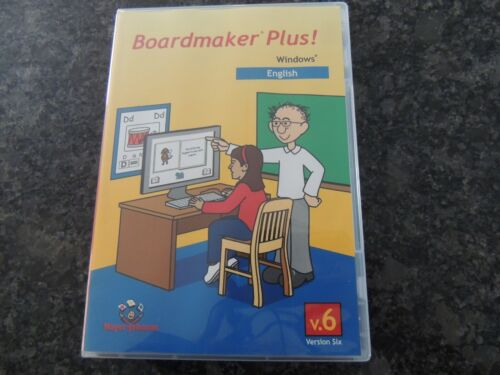 Boardmaker Plus Windows English NEW Version SIx v.6 Never Used