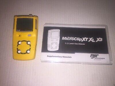 Bw Technologies Gas Alert Microclip Xtxlx3- Model Mcxl-xwhm-y-na