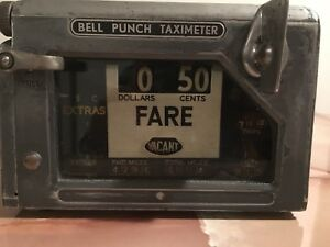 Antique Taxi Meter England