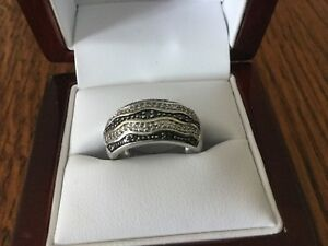 14 KT White Gold Lady's Custom Made Diamond Band