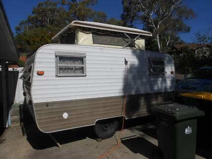 Retro Millard 1977 Pop Top Caravan For Sale