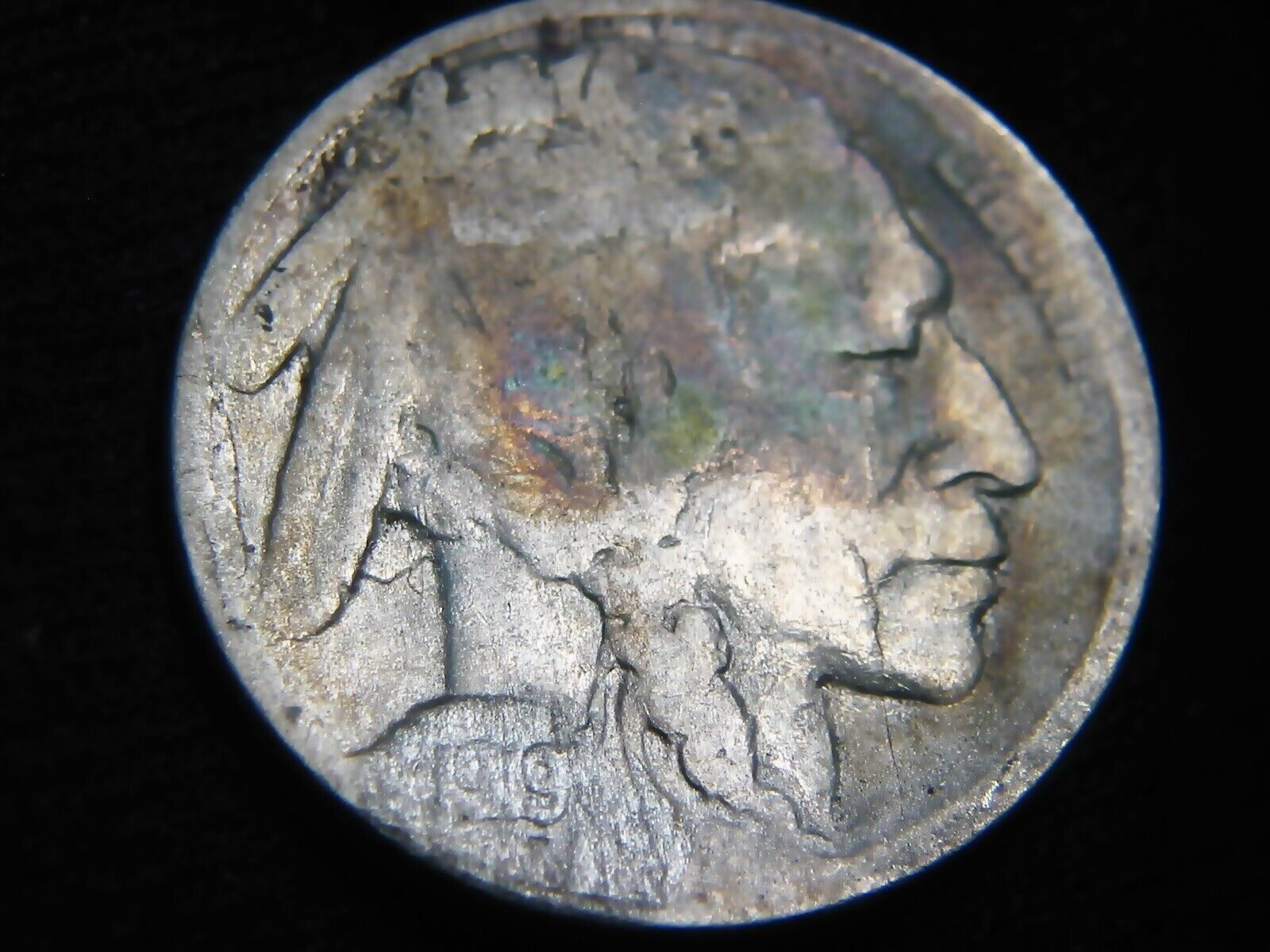 Nice 1919-S BUFFALO NICKEL 5 --Restored Date-- S H Only 99 1228 - $1.79