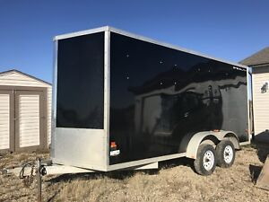 2014 16' enclosed trailer