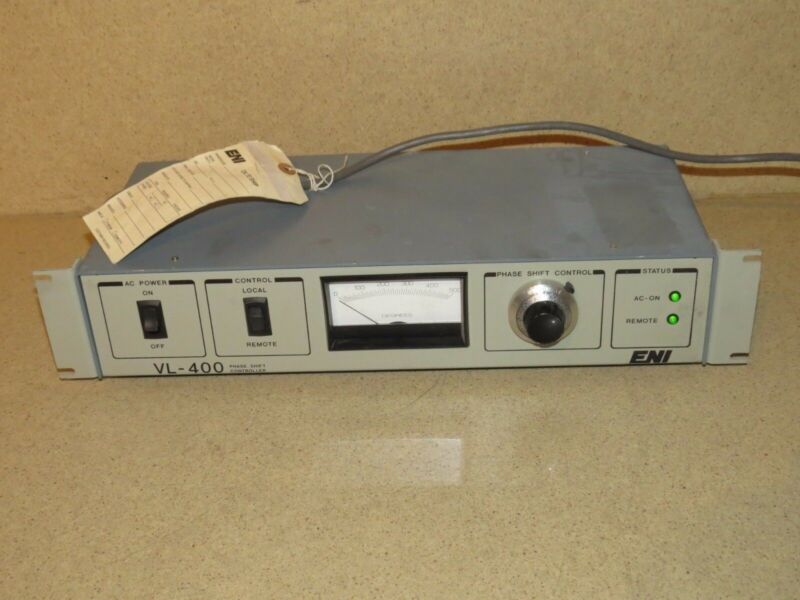 ENI VL-400 PHASE SHIFT CONTROLLER